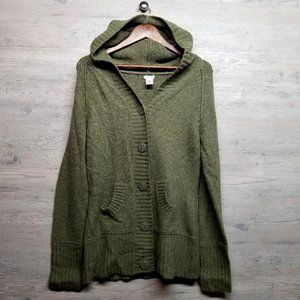 Maurices Wool Cardigan Hoodie Sweater. Perfect!